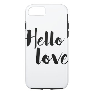 Hello Love iPhone 8/7 Case
