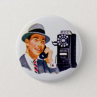 Hello, Mabel? It's Tony. 6 Cm Round Badge