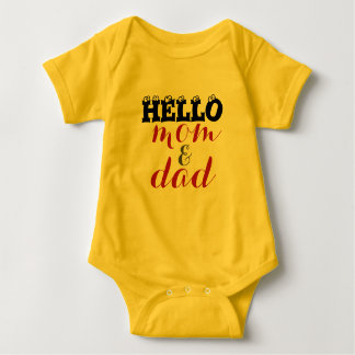 Hello Mom & Dad Bodysuit