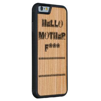 hello mother f*** cherry iPhone 6 bumper