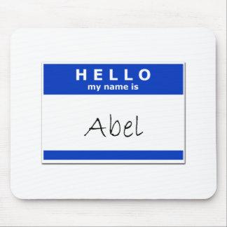 Hello My Name Is Abel Mousepad