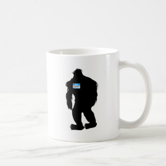 Hello-My Name Is BigFoot Coffee Mugs