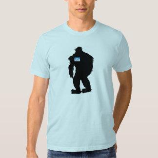 Hello-My Name Is BigFoot Tee Shirts