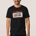 Hello my name is Captain Awesome T-Shirt