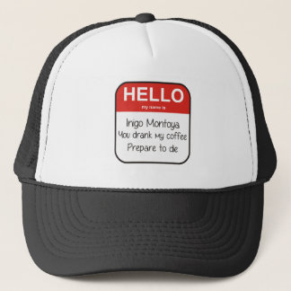 Hello, my name is...Great new design! Trucker Hat