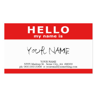 Browse the Cool Business Cards Collection and personalise by colour, design or style.