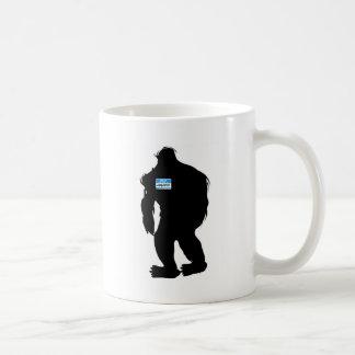 Hello-My Name Is Sasquatch Basic White Mug