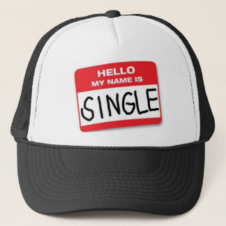 Hello My name is Single Hat
