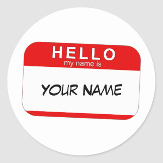 Name tag templates stickers sticker designs for Hello my name is sticker template