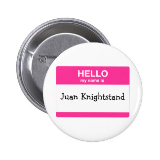 Hello, My Name is Tag 6 Cm Round Badge
