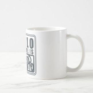 Hello My Name is the Joker Basic White Mug