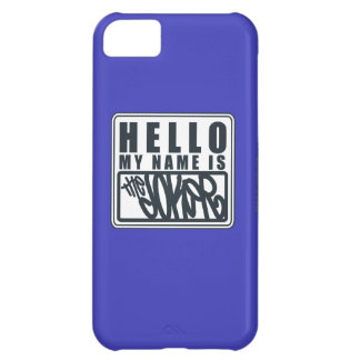 Hello My Name is the Joker iPhone 5C Case