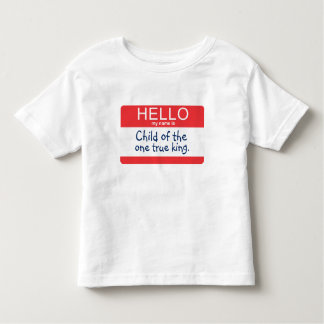 Hello My Name Is... Toddler T-Shirt