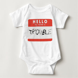 Hello my name is trouble shirt