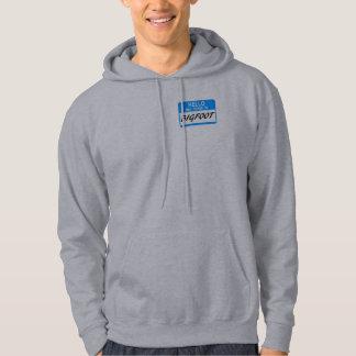 Hello Name Tag BigFoot Hoody