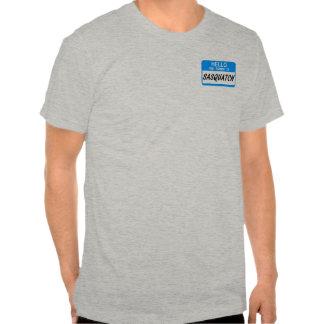 Hello Name Tag Sasquatch T Shirts