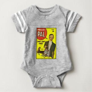 Hello Pal #2 Charlie McCarthy Cover Art Baby Bodysuit