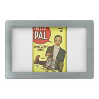 Hello Pal #2 Charlie McCarthy Cover Art Belt Buckles