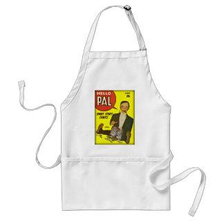 Hello Pal #2 Charlie McCarthy Cover Art Standard Apron