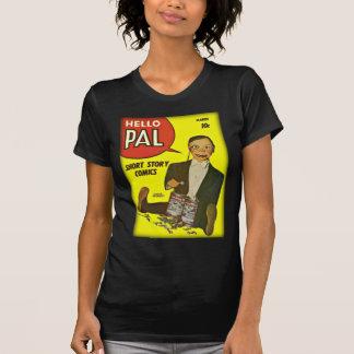 Hello Pal #2 Charlie McCarthy Cover Art T-Shirt