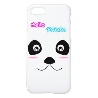 Hello Panda White Panda Face Cute Case