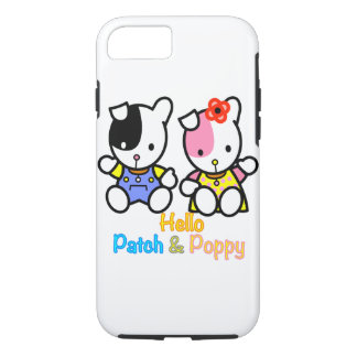 Hello Patch and Poppy iPhone 8/7 Case