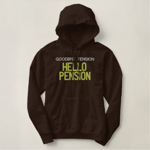 Hello Pension Embroidered Shirt