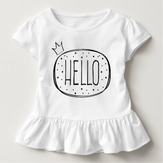 Hello Princess Design Toddler T-Shirt