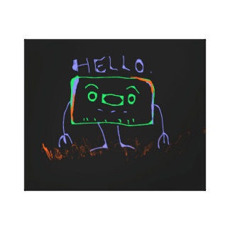 Hello Robot Canvas Print