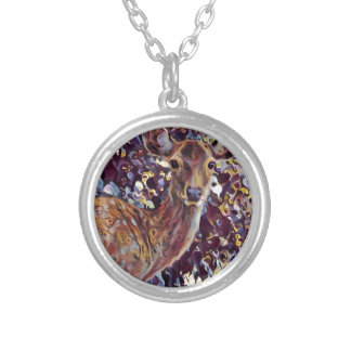 Hello :-) silver plated necklace