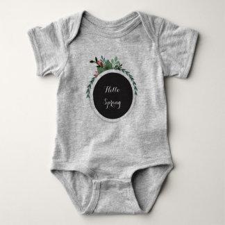 Hello Spring Baby bodysuit