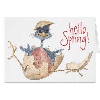 Hello Spring - Card