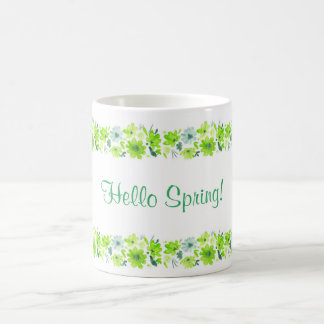 Hello Spring mug. Coffee Mug