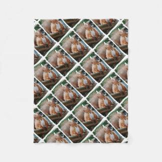 Hello Squirrel - Photography Jean Louis Glineur Fleece Blanket