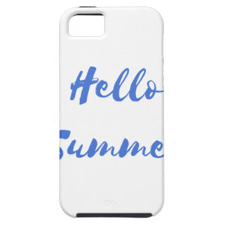 hello summer iPhone 5 covers
