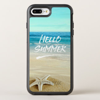 Hello Summer Starfish Sunshine Beach OtterBox Symmetry iPhone 7 Plus Case