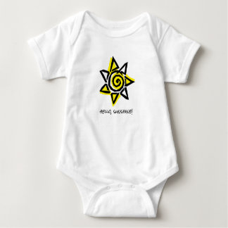 Hello, Sunshine! Baby Bodysuit