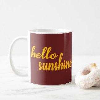 Hello Sunshine - Customizable MUG