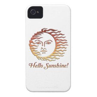 HELLO SUNSHINE Fun Sun Summer Case-Mate iPhone 4 Cases