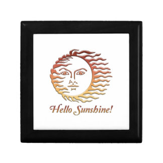 HELLO SUNSHINE Fun Sun Summer Gift Box