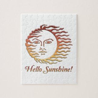 HELLO SUNSHINE Fun Sun Summer Jigsaw Puzzle