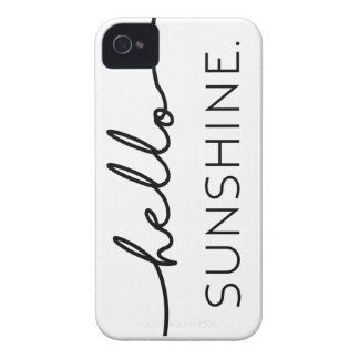 Hello Sunshine iPhone 4 Covers