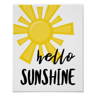 Hello Sunshine Poster
