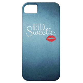 Hello Sweetie KISS iPhone 5 Case