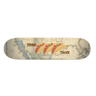 Hello Taco Skateboard - With Map