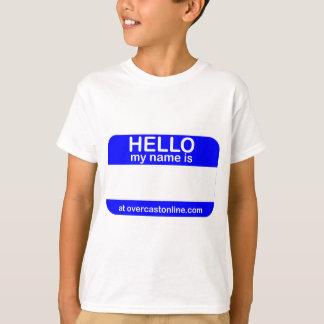 Hello Tag Tee Shirts