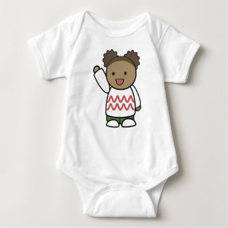 HELLO TEDDY BEAR BABY BODYSUIT