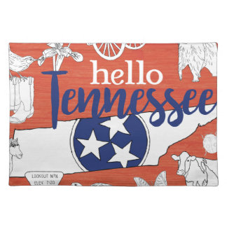 Hello Tennessee Placemat