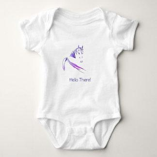 Hello There! Baby Bodysuit