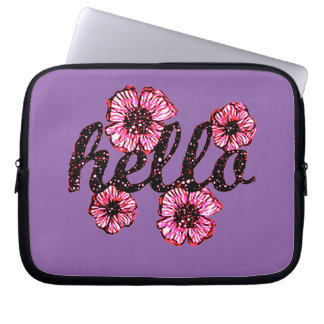 Hello There Laptop Computer Sleeve